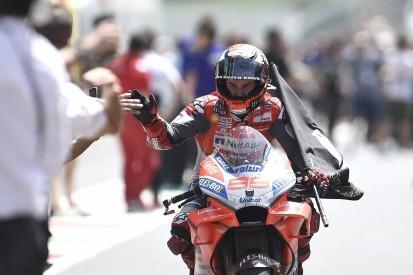 Jorge Lorenzo made biggest MotoGP weekend style change of career
