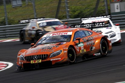 DTM explains why it excluded drivers for Hungary pitlane crashes