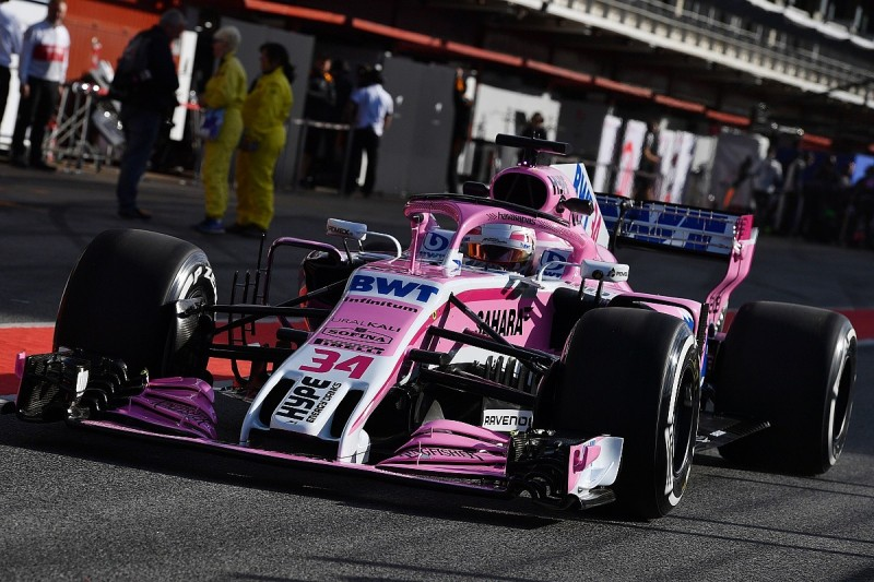 Force India's new F1 front wing ready to race in Canada or France
