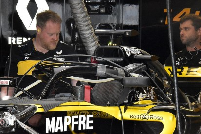 Renault reveals new version of F1 halo mirrors at Canadian GP