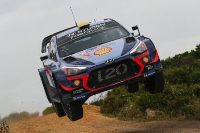 Rally Italy: Hyundai's Andreas Mikkelsen leads team-mate Neuville