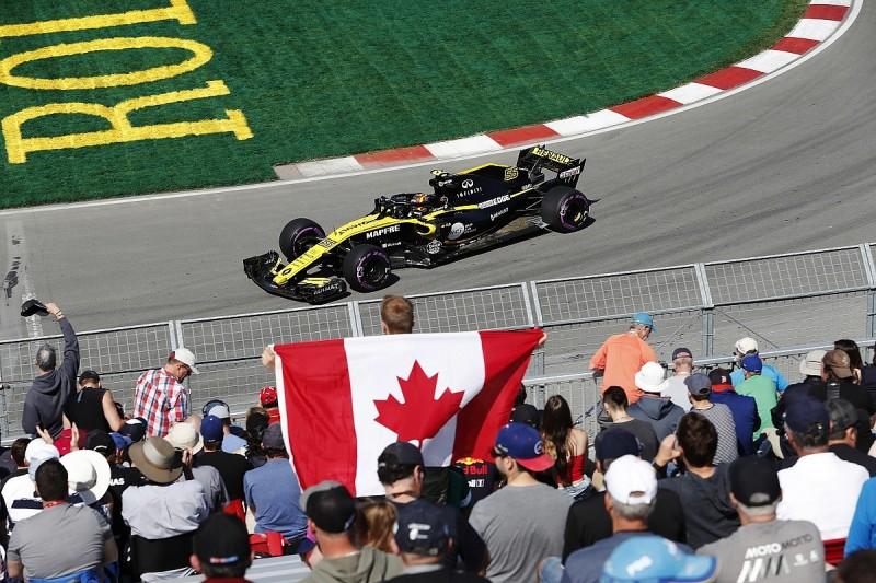 All six Renault-powered Formula 1 cars get Canadian GP upgrade