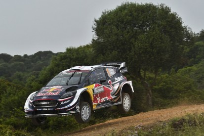 WRC Rally Italy Sardinia: Sebastien Ogier surges from fifth to lead