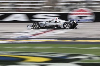 Newgarden leads Penske trio in IndyCar qualifying at Texas