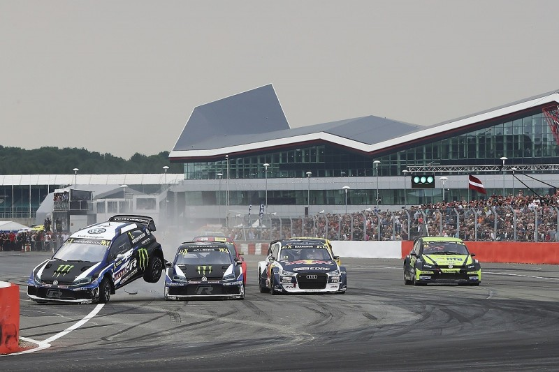 VW team-mates Solberg and Kristoffersson deny any World RX conflict