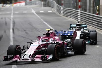 Force India explains Ocon/Hamilton Monaco F1 pass after complaints