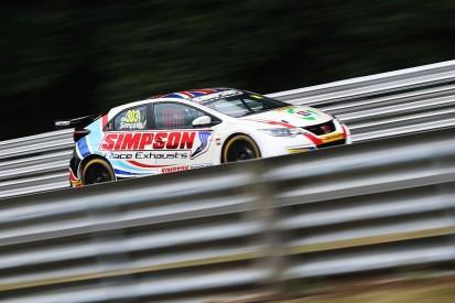 BTCC Oulton Park: Matt Simpson fastest in Honda Civic Type R