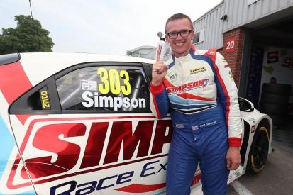 BTCC Oulton Park: Honda driver Matt Simpson scores first BTCC pole