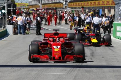 Sebastian Vettel surprised by Red Bull's hypersoft tyre strategy