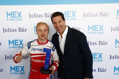 Mexico City Formula E: Rosenqvist cuts Vergne's lead with pole