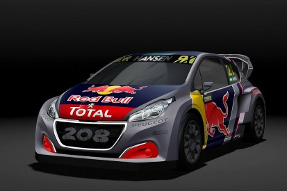 Peugeot reveals 2018 World Rallycross car, retains Hansen brothers