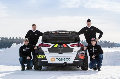 Double WRC champion Marcus Gronholm launches Hyundai World RX team