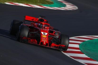 F1 testing: Vettel stays fastest for Ferrari, more trouble for McLaren