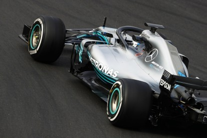 Mercedes says its F1 sidepod change for 2018 is worth 0.25 seconds