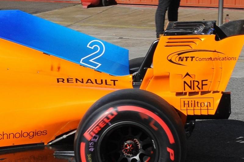 F1 testing: McLaren to make cooling fix after bodywork burning