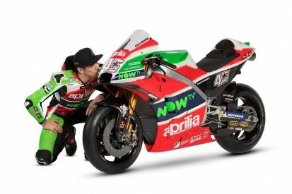Aprilia reveals its 2018 MotoGP livery at official launch