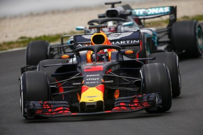 Hamilton: Red Bull could pose Mercedes a 'real challenge' in F1 2018