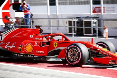 F1 testing: Raikkonen fastest for Ferrari, McLaren in trouble again