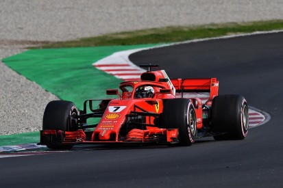 F1 testing: Raikkonen keeps Ferrari on top on final day at Barcelona