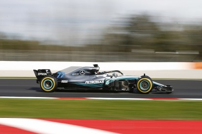 F1 testing: Bullish Mercedes has soft-tyre doubts from Barcelona