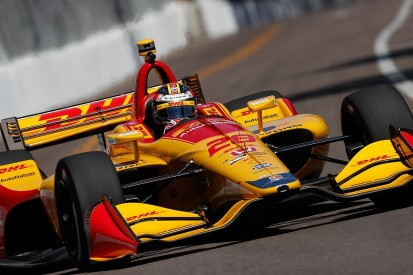 IndyCar St Petersburg: Ryan Hunter-Reay fastest in second practice