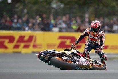 Marc Marquez shows Honda MotoGP riders 'have to crash' - Morbidelli