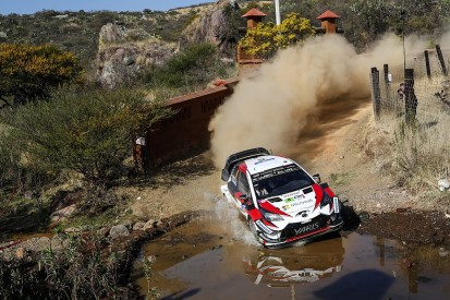 WRC Rally Mexico: Toyota retires Ott Tanak after engine issues