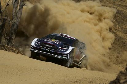WRC Rally Mexico: Sebastien Ogier leads amid SS14 drama