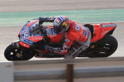 Andrea Dovizioso happy to be tipped as favourite for MotoGP Qatar