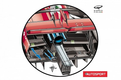 The secret behind floor tunnels on Ferrari's SF71H 2018 F1 car