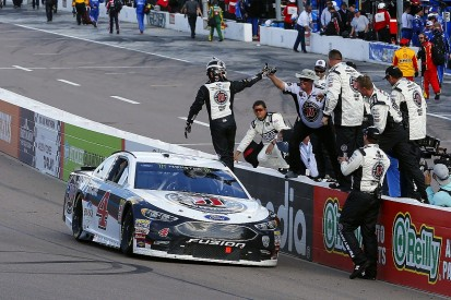 Anger over penalty fuelled Kevin Harvick's NASCAR Phoenix win