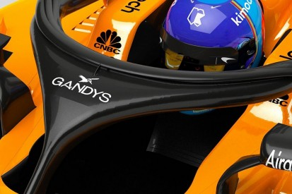 McLaren F1 halo to be sponsored by flip-flop company at Australian GP