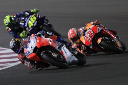 MotoGP Qatar: Dovizioso fends off Marquez to win season opener