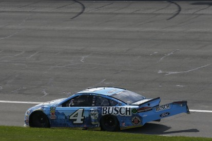 NASCAR Fontana: Harvick accepts blame for crash with Larson