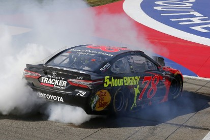 Truex says he can match Harvick NASCAR streak after first 2018 win