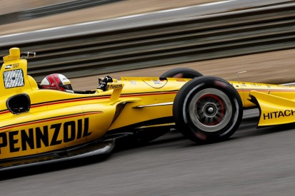 Penske's Helio Castroneves begins IndyCar return in Barber test
