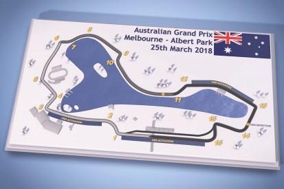 Video guide: Australian Grand Prix's Albert Park F1 circuit