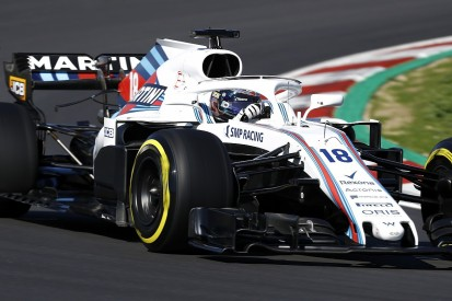 Stroll: Williams 'has to be concerned' by other F1 teams' test pace