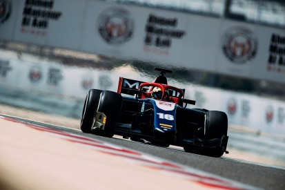 Trident's Haas F1 junior Maini tops day two of F2 Bahrain test