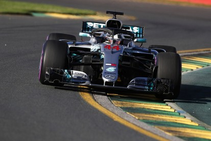 Australian Grand Prix: Hamilton leads Verstappen in practice