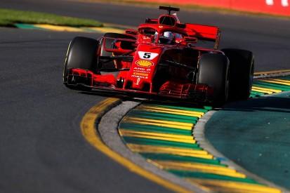 Sebastian Vettel not comfortable with Ferrari in Melbourne practice