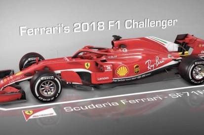 Video: How Ferrari's 2018 F1 car differs from its predecessor