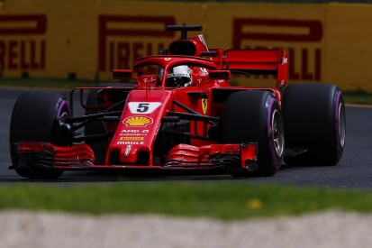 Australian Grand Prix practice: Vettel leads Ferrari one-two