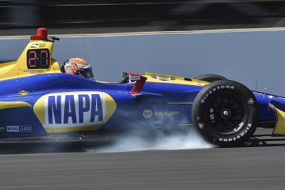 Indianapolis IndyCar testing: Rossi ends up fastest over Power