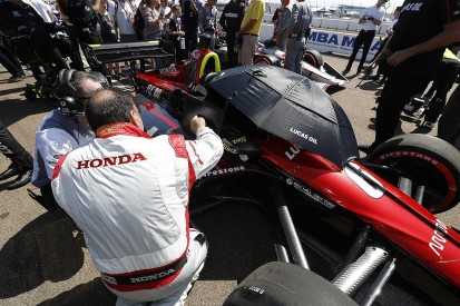 Honda wants chance for IndyCar engine development 'rethink'
