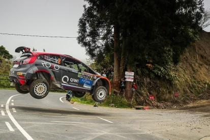 ERC Rally Azores: Alexey Lukyanuk wins season opener