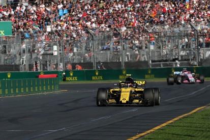 Water pump problem meant Sainz 'nearly vomited' in Australian GP