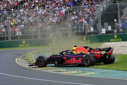 Early damage a factor in Max Verstappen's Australian GP spin