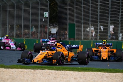 Australian GP: McLaren F1 team's result a 'big contrast' to 2017