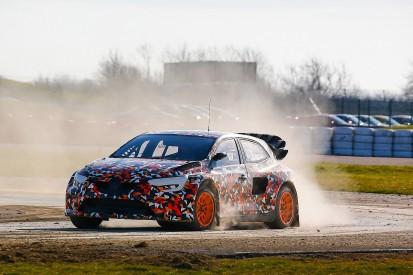 Prodrive-built Megane World RX car breaks cover at Silverstone test